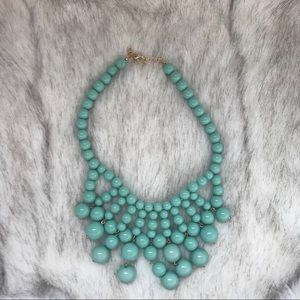 5/25‼️Teal statement necklace